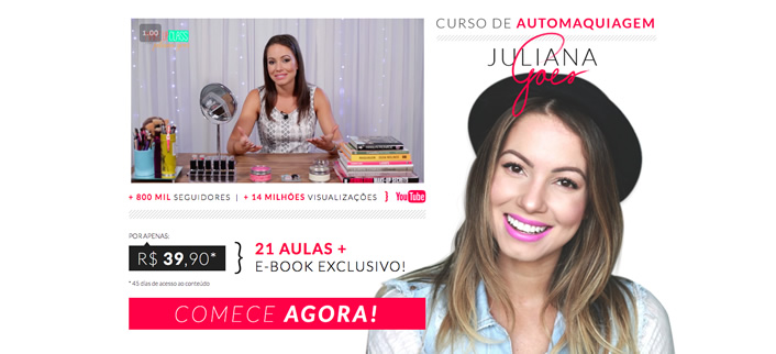curso automaquiagem juliana goes