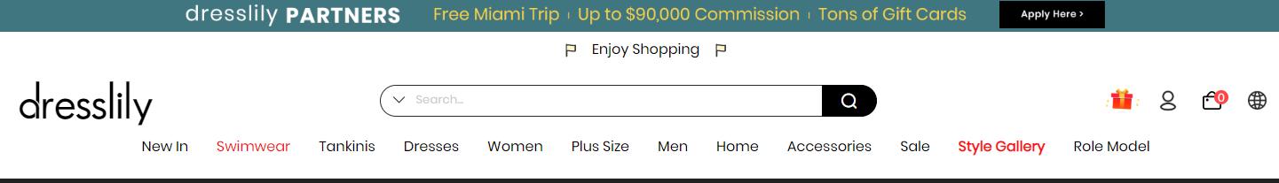 dresslily e confiavel homepage