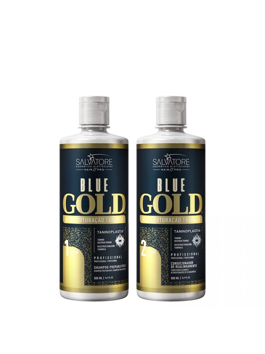Salvatore Escova Progressiva Blue Gold
